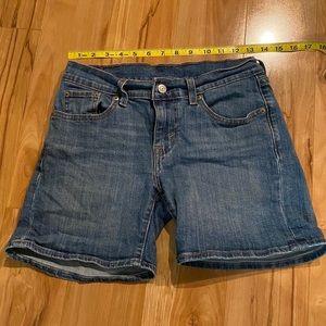 Levi's Jean shorts—Size 26